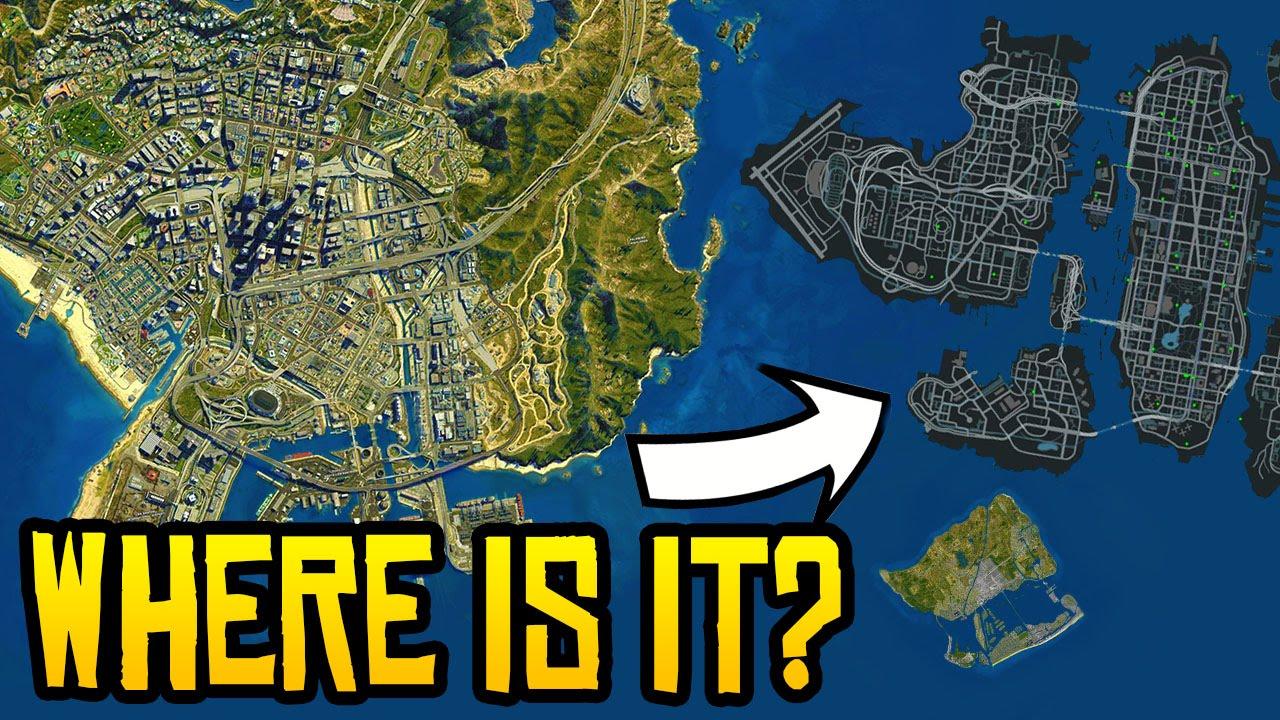 GTA 5 Liberty City Map Expansion DLC - Where is it? (GTA 5 DLC News)