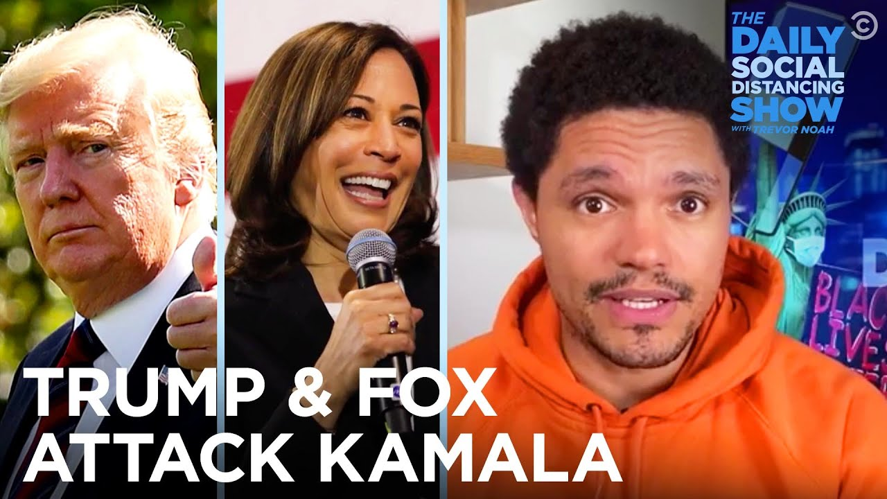 Trump and Fox News Struggle to Attack Kamala  | The Daily Social Distancing Show