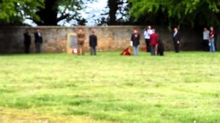 Airborne Forces wreath laying Hardwick Hall Sunday 18th May 2014