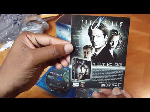 "The X-Files Season 10 ""Event Series"" Blu ray Unboxing"