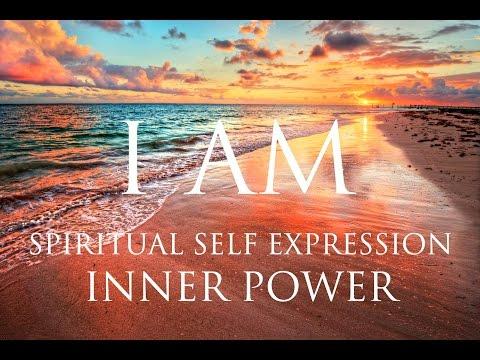 I AM Affirmations ➤ Spiritual Self Expression & Inner Power | Self-Realization | 852Hz & 963Hz ⚛