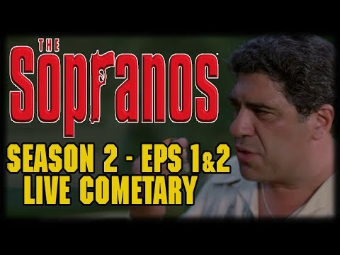"The Sopranos Season 2 Episode 1 ""Guy Walks into a Psychiatrist's Office"" Live Commentary"