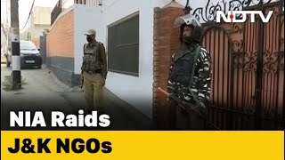 Rights Activist, Kashmir NGOs, Trusts Raided In Terror Funding Case