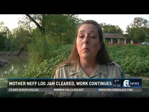 Mother Neff log jam cleared, work continues