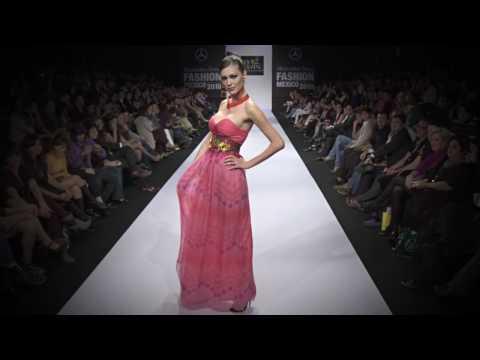 Mercedes-Benz Fashion México P/V 2010 Lydia Lavin
