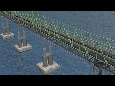 Trans-Pacific Russia, Japan rail bridge plans visualized