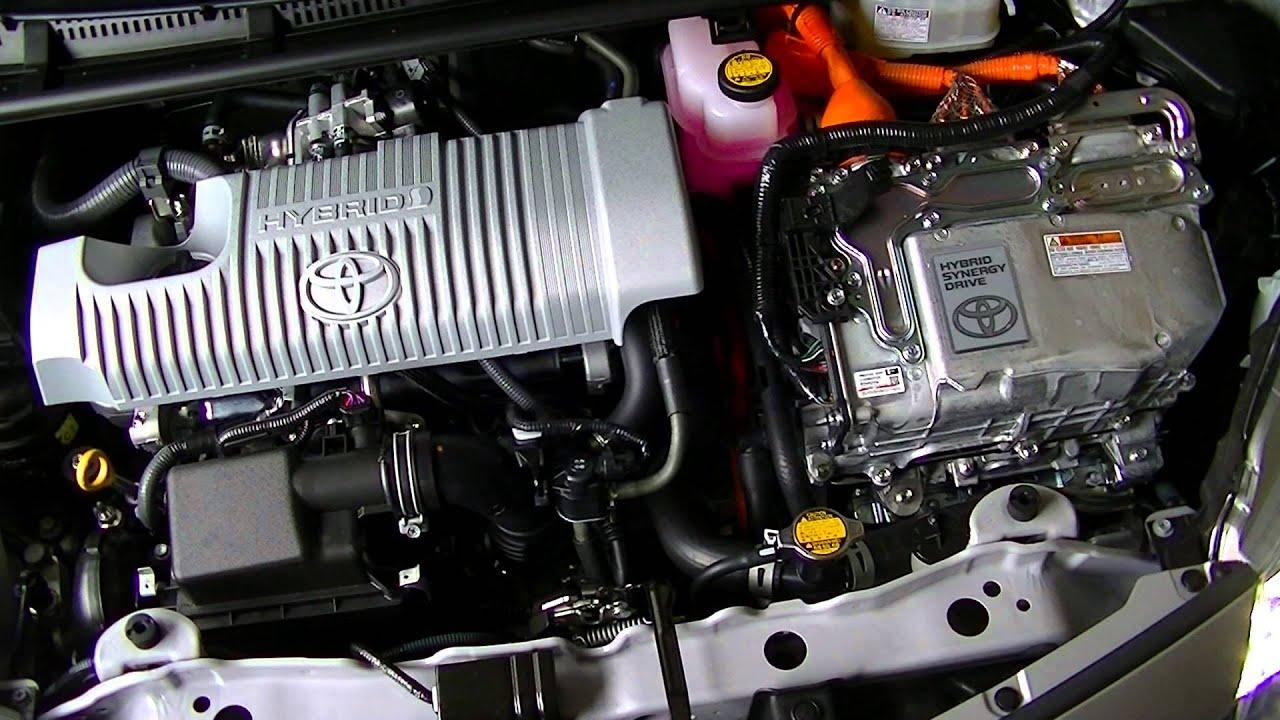 Prius C Yaris Hybrid Engine Start Youtube