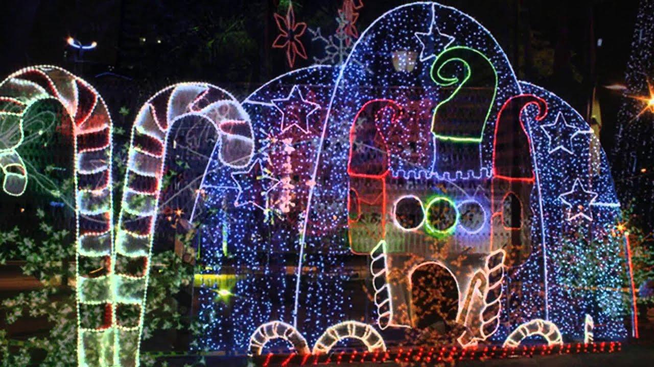 Luces de Navidad en Colombia  YouTube