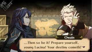Fire Emblem Awakening - Owain & Lucina Support Conversations
