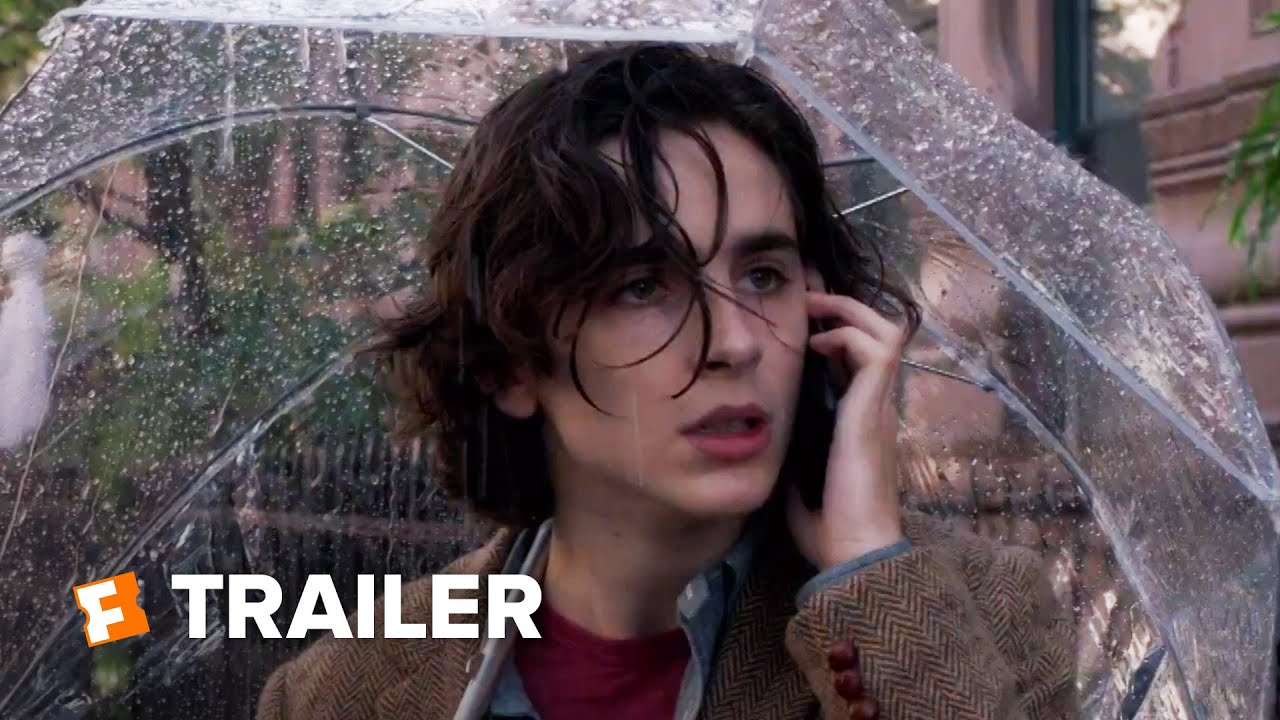 A Rainy Day in New York Trailer #1 (2020)
