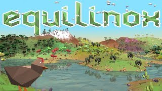 Building The Perfect Animal-filled World - Evolutionary Ecosystem Simulator - Equilinox Gameplay