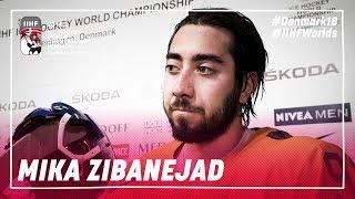 Interview with Mika Zibanejad | #IIHFWorlds 2018