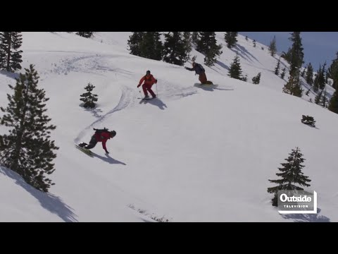 Snowboarding with Jeremy Jones in Squaw Valley | Locals
