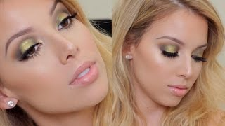 Wearable Green Smokey Eye | LustreLux