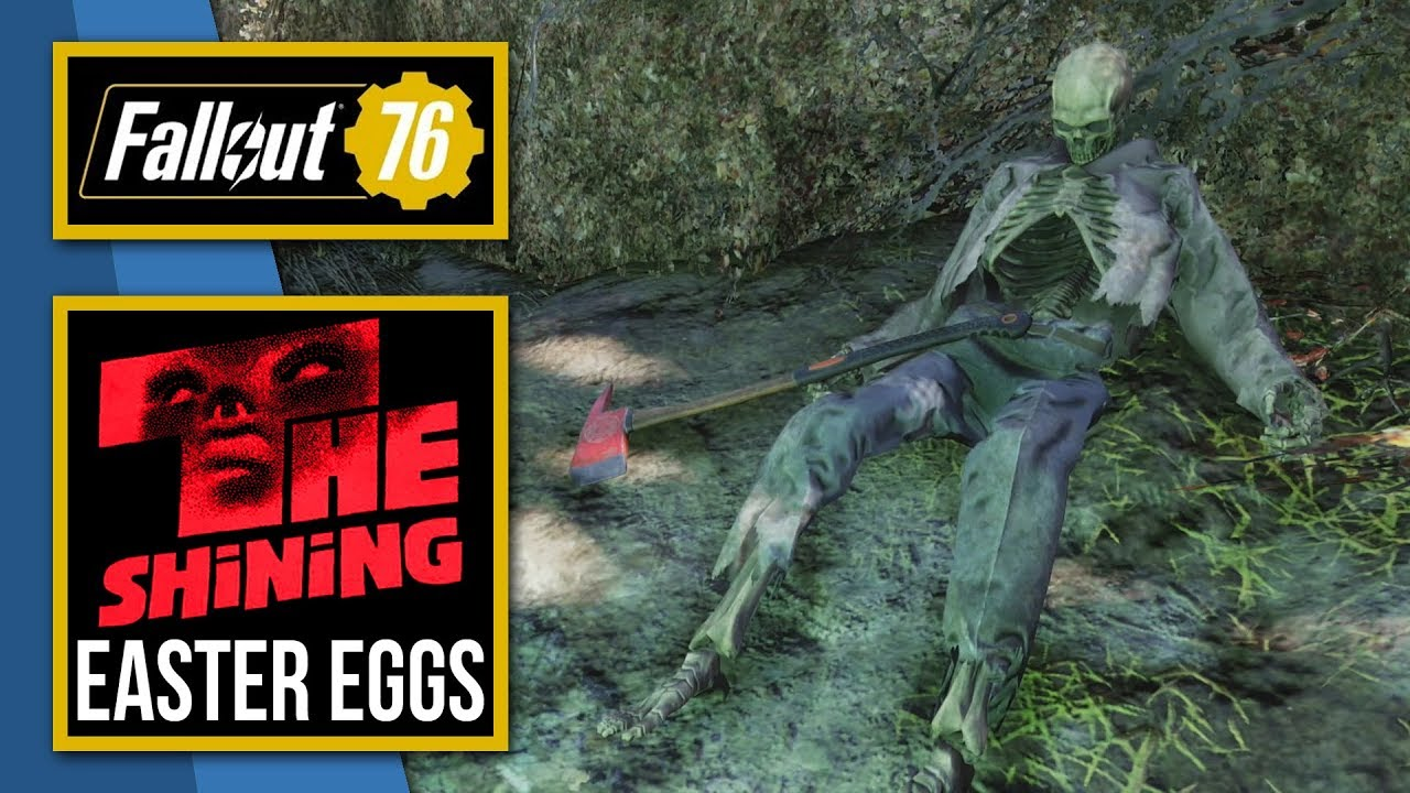 Fallout 76 | The Shining Easter Eggs