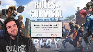 Am I Quitting Rules of Survival?