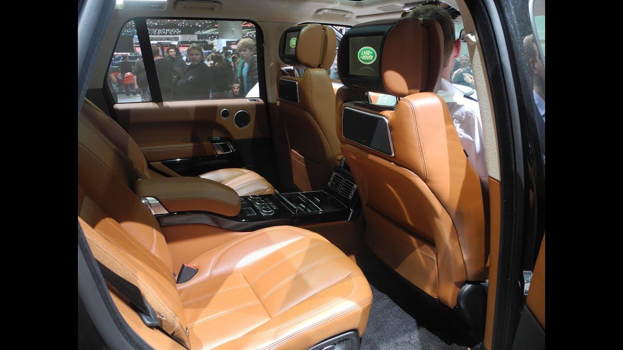 interni range rover evoque pure vs autobiography