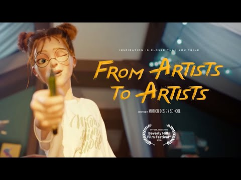 """CGI Animated Short Film: """"From Artists to Artists"""""""