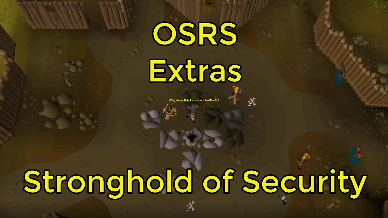 Osrs Stronghold Of Security You