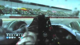 F1 2010 イギリスGP(WET RACE) GAME