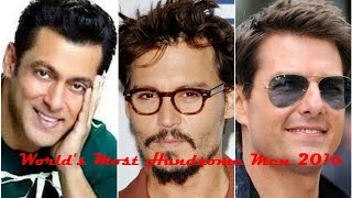 Most handsome men in the world 2016-2017