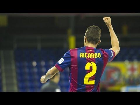 FUTSAL (LNFS): FC Barcelona - Santiago Futsal (8-2) CAT