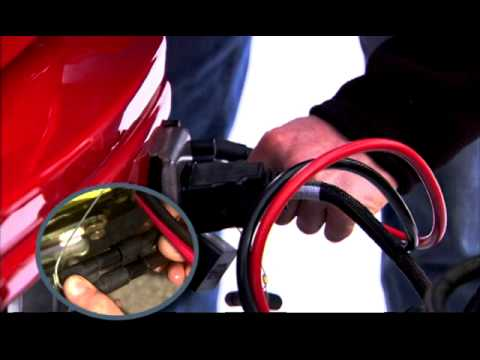 How to Attach your BOSS Straight Blade Snowplow - YouTube
