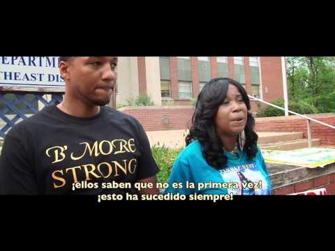 TRAILER documental NO JUSTICE NO PEACE, Baltimore 2015