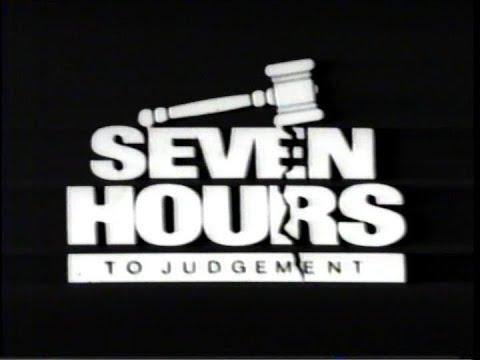 Seven Hours to Judgment 1988  Home Video