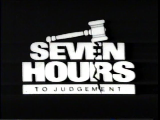 Seven Hours to Judgment (1988) - Home Video Trailer