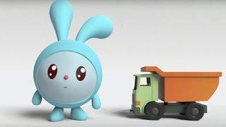 Малышарики - Ракета (4 серия) | Развивающие мультфильмы для самых маленьких 1,2,3,4 года