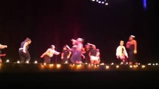 judas pt 2 flanagan color guard recital 2012