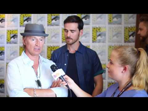 Robert Carlyle and Colin O'Donoghue Interview at SDCC 2017