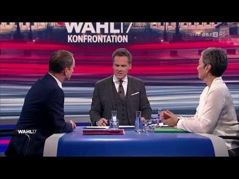 Konfrontation Grüne - NEOS | Wahl 17