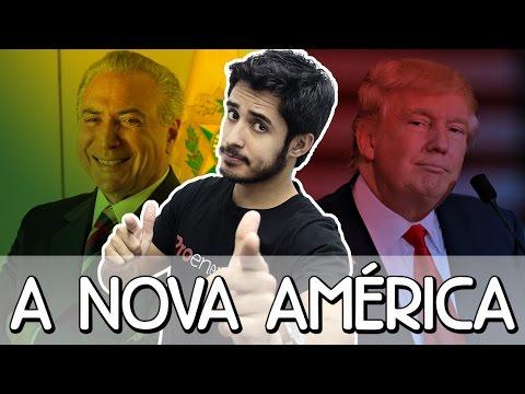 O que muda com os governos Donald Trump e Michel Temer? | Prof. Leandro Almeida