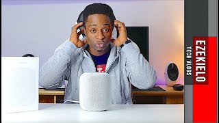 Apple Homepod SOUND/BASS Test (Binaural Recording)