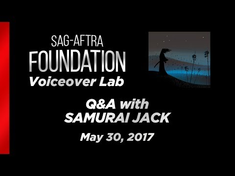 Voiceover Lab: Q&A with Phil Lamarr, Grey Griffin, Greg Baldwin of SAMURAI JACK
