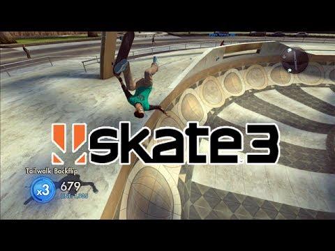 Skate 3 Challenge #4: Tailwalk Flip + Bonus Challenge! | X7 Albert