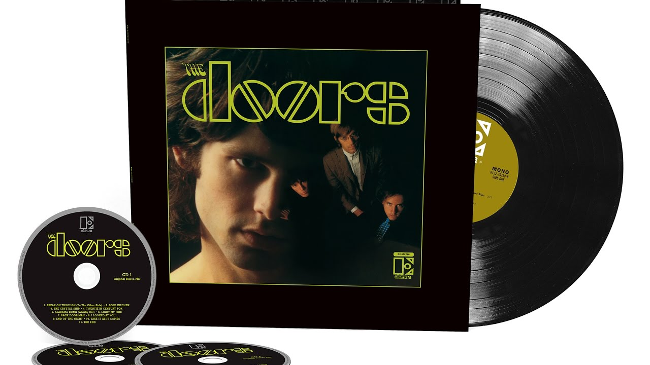 The Doors 50th Anniversary Re Issue 3 Cd 1 Lp