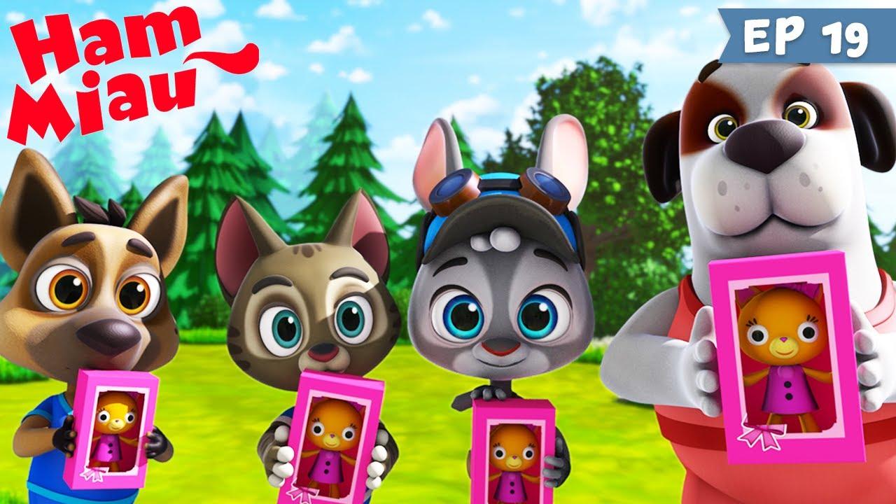 Ham Miau 🐶 Cadoul 🐱 Desene animate cu pentru copii
