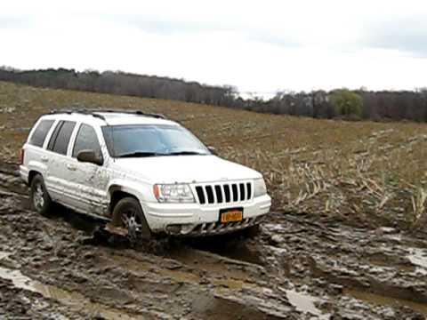 1999 Jeep Grand Cherokee Mudding Youtube
