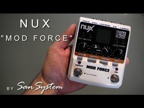 NUX  MOD FORCE  ( Modulation )