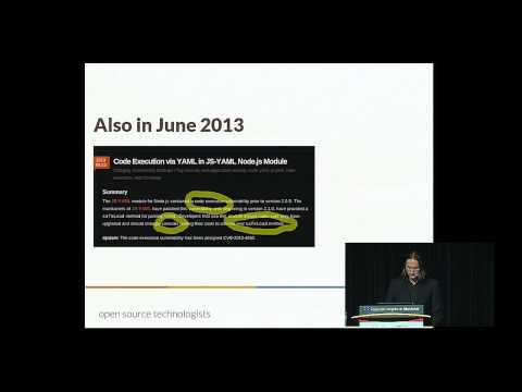 Tom Eastman - Serialization formats are not toys - PyCon 2015