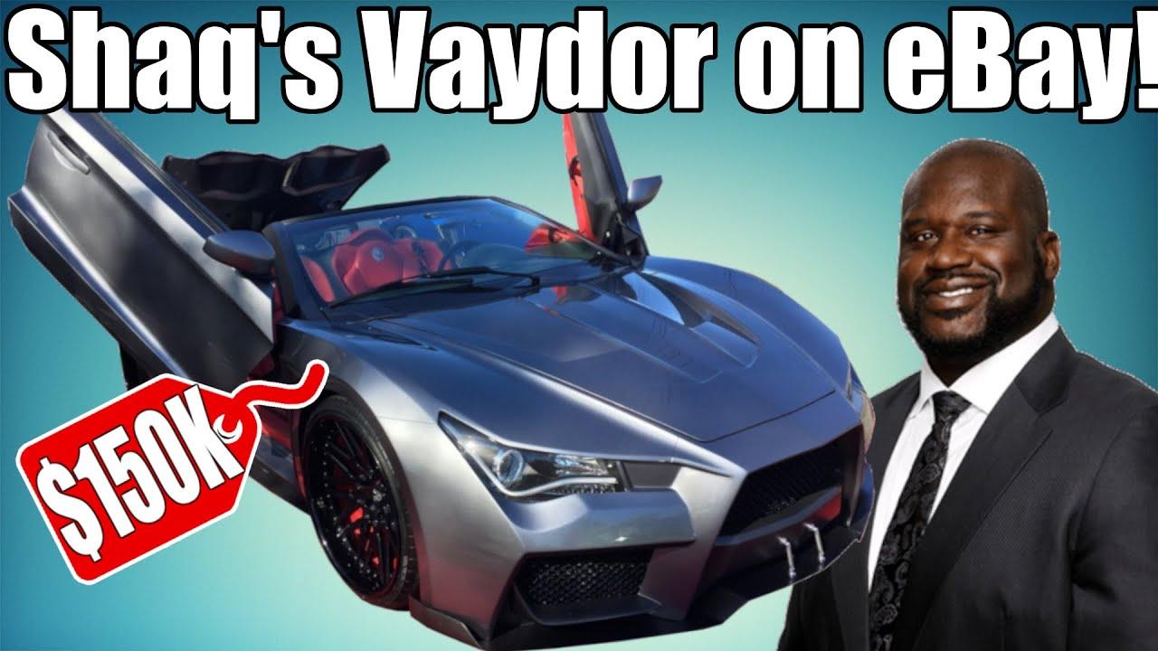 Shaq's Vaydor For Sale $150,000?! eBay Kit Cars #2