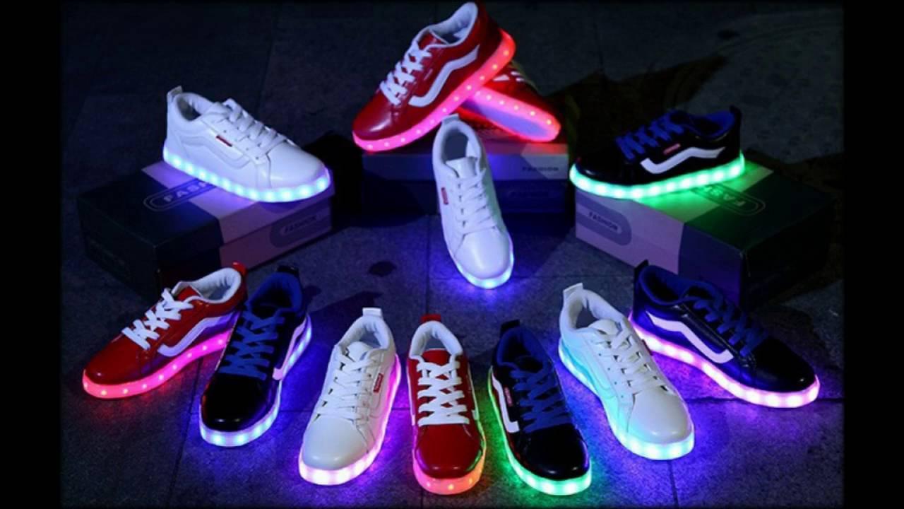 купить в lamoda светящиеся кроссовки недорого - YouTube