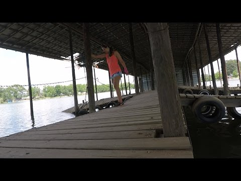 Abandoned Boat Dock: Magnet Fishing from a Kayak