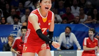 Best setters: Wei Quiyue (CHN)