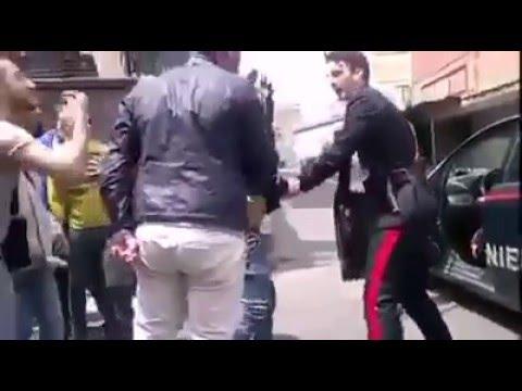 Carabinieri aggrediti a Nesima, Catania