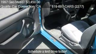 1997 Geo Metro 2-Door hatchback - for sale in La Mesa, CA 91