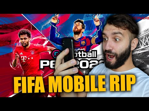 PES MOBILE 20 КРУЧЕ FIFA MOBILE!?
